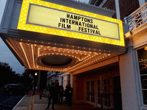 Internationales Filmfestival in den Hamptons