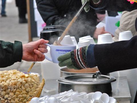 Wärmende Köstlichkeiten beim Chowderfest im Februar